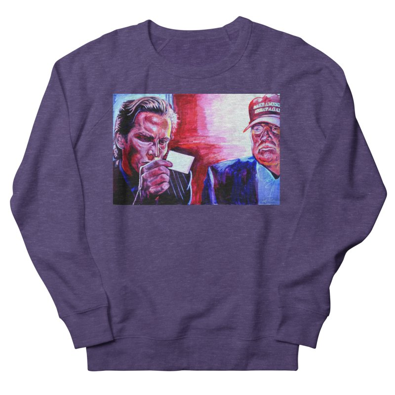 """american psycho Women's French Terry Sweatshirt by Art Prints by Seama available under """"Home"""""""