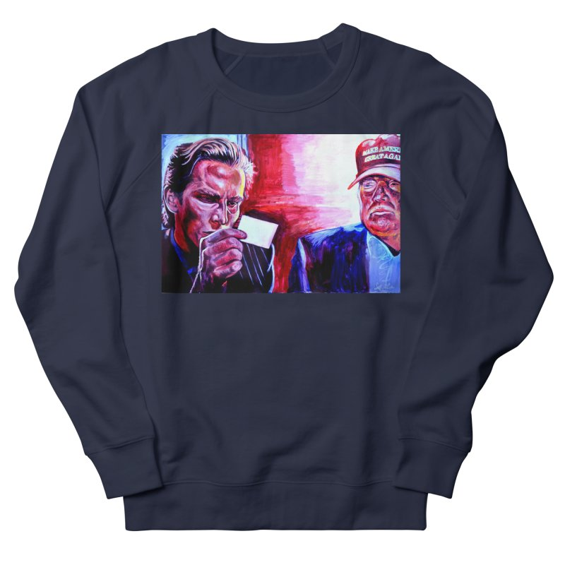 """american psycho Men's French Terry Sweatshirt by Art Prints by Seama available under """"Home"""""""