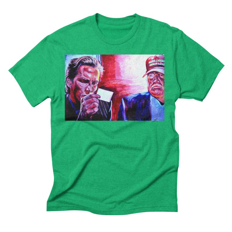 """american psycho Men's Triblend T-Shirt by Art Prints by Seama available under """"Home"""""""