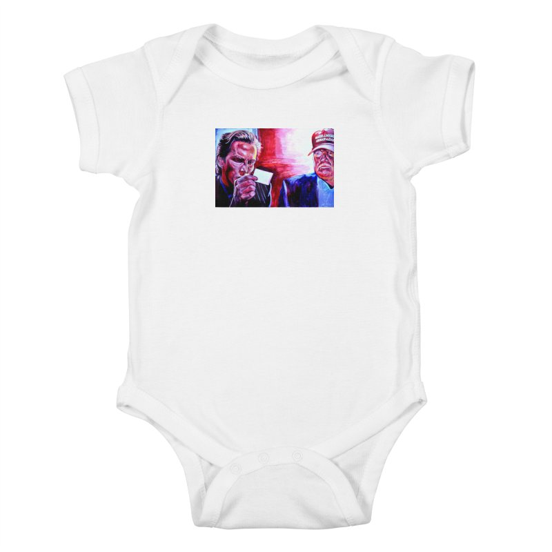 """american psycho Kids Baby Bodysuit by Art Prints by Seama available under """"Home"""""""