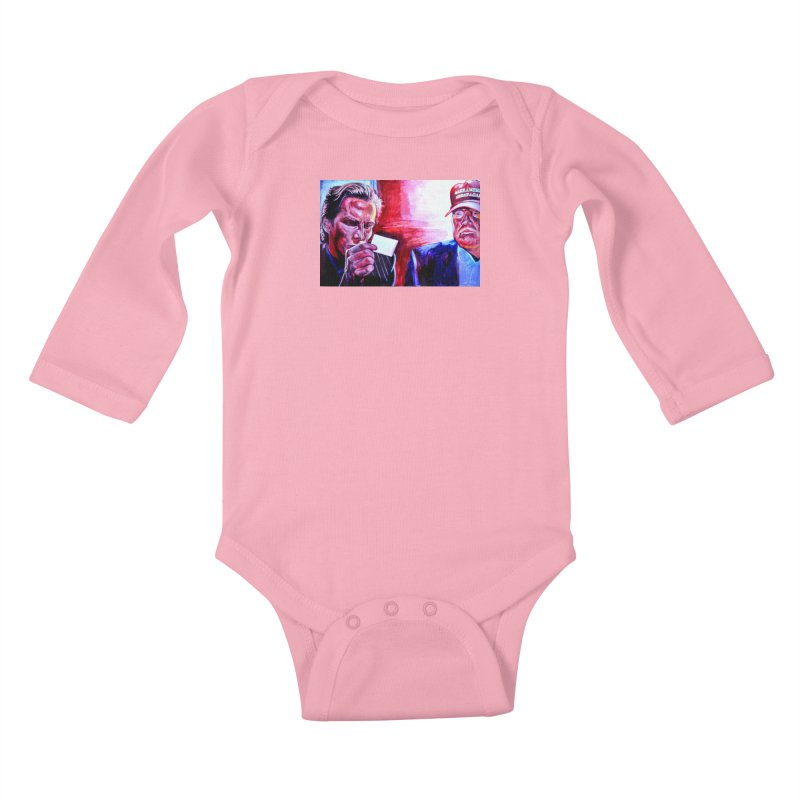 "american psycho Kids Baby Longsleeve Bodysuit by Art Prints by Seama available under ""Home"""