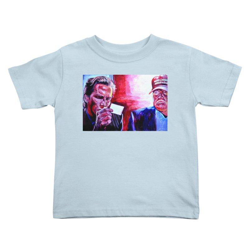 """american psycho Kids Toddler T-Shirt by Art Prints by Seama available under """"Home"""""""