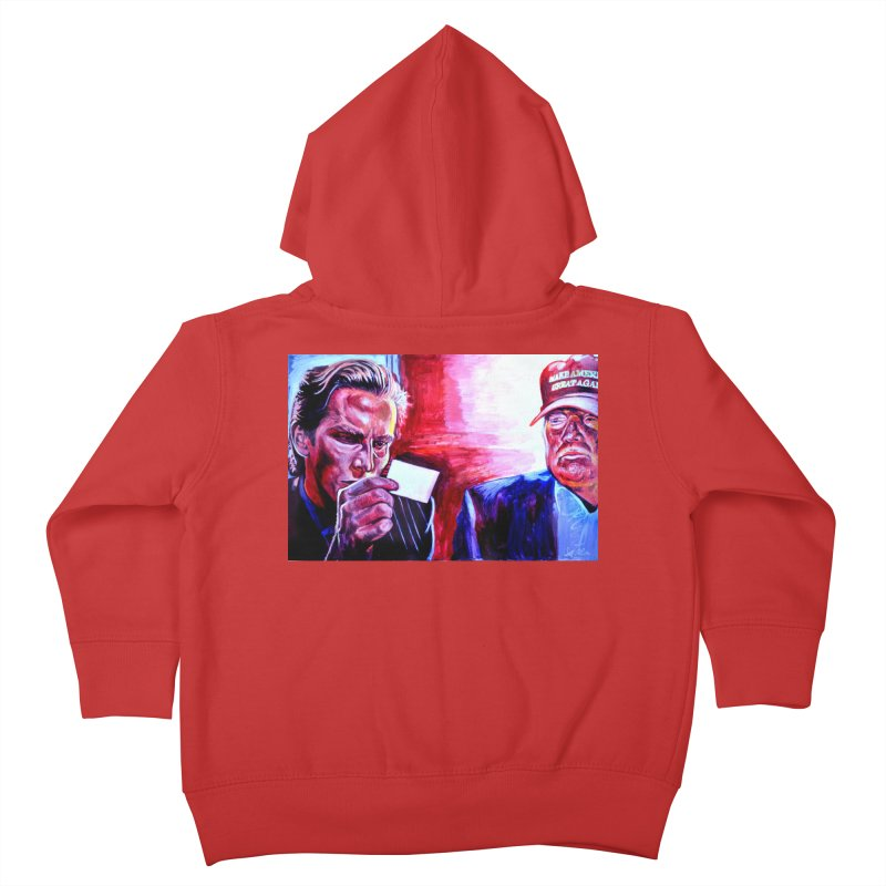 """american psycho Kids Toddler Zip-Up Hoody by Art Prints by Seama available under """"Home"""""""