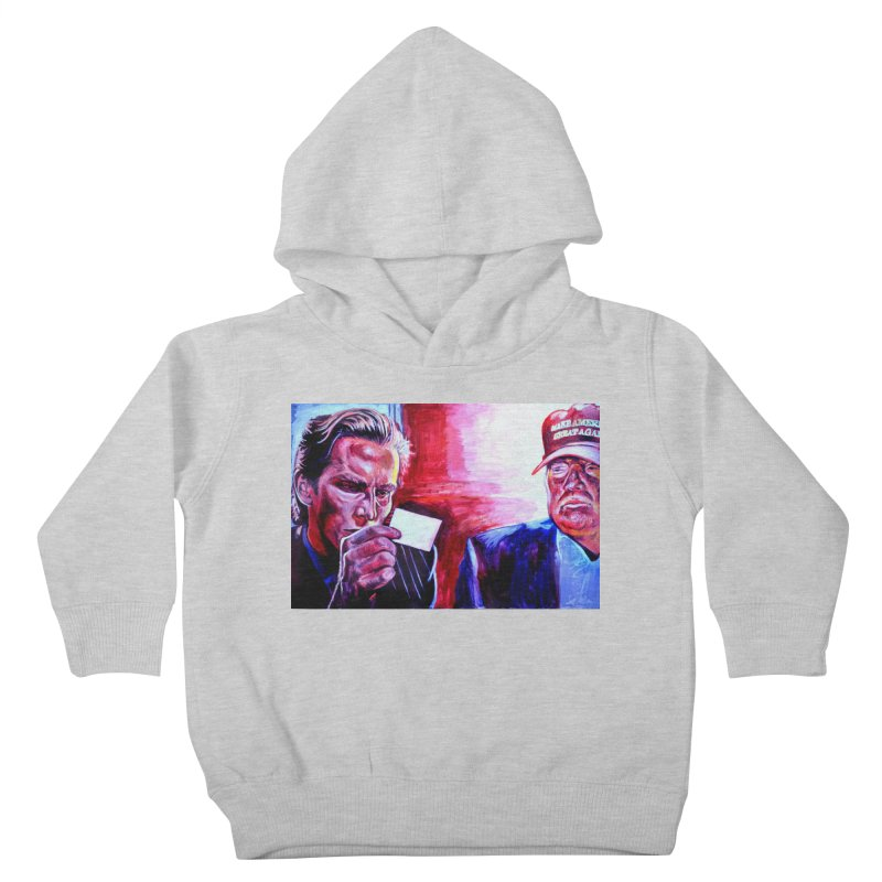 """american psycho Kids Toddler Pullover Hoody by Art Prints by Seama available under """"Home"""""""