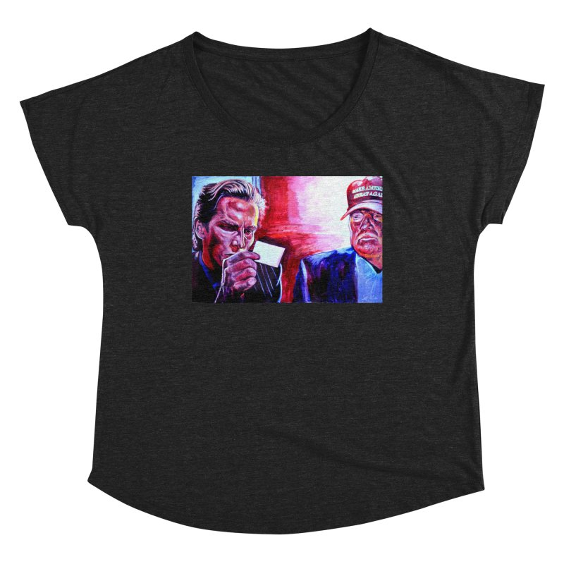 """american psycho Women's Dolman Scoop Neck by Art Prints by Seama available under """"Home"""""""