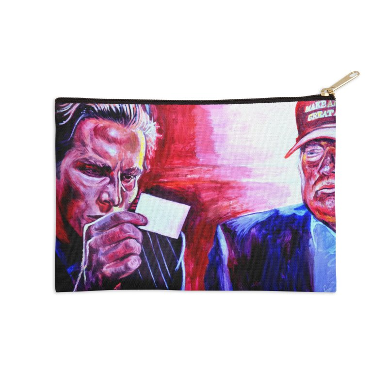 "american psycho Accessories Zip Pouch by Art Prints by Seama available under ""Home"""