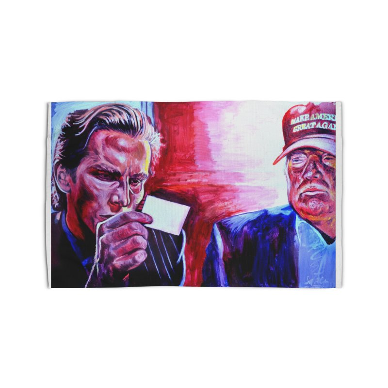 """american psycho Home Rug by Art Prints by Seama available under """"Home"""""""