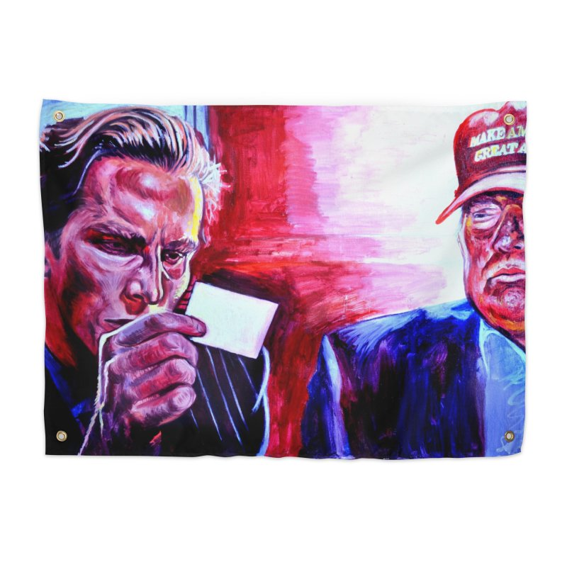 "american psycho Home Tapestry by Art Prints by Seama available under ""Home"""