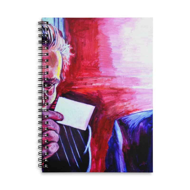 """american psycho Accessories Lined Spiral Notebook by Art Prints by Seama available under """"Home"""""""