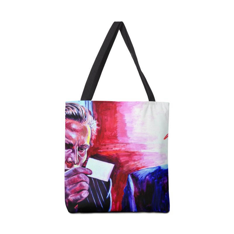 "american psycho Accessories Tote Bag Bag by Art Prints by Seama available under ""Home"""