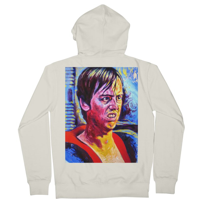 """bump it Men's French Terry Zip-Up Hoody by Art Prints by Seama available under """"Home"""""""