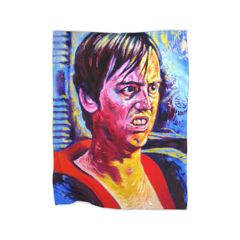 """bump it Home Fleece Blanket Blanket by Art Prints by Seama available under """"Home"""""""