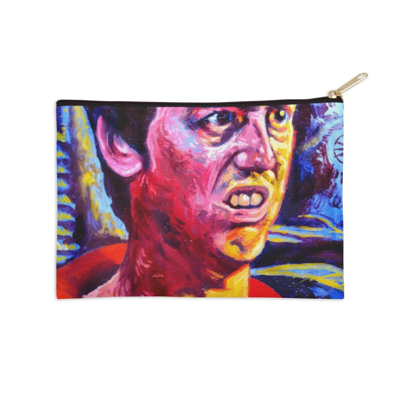 "bump it Accessories Zip Pouch by Art Prints by Seama available under ""Home"""