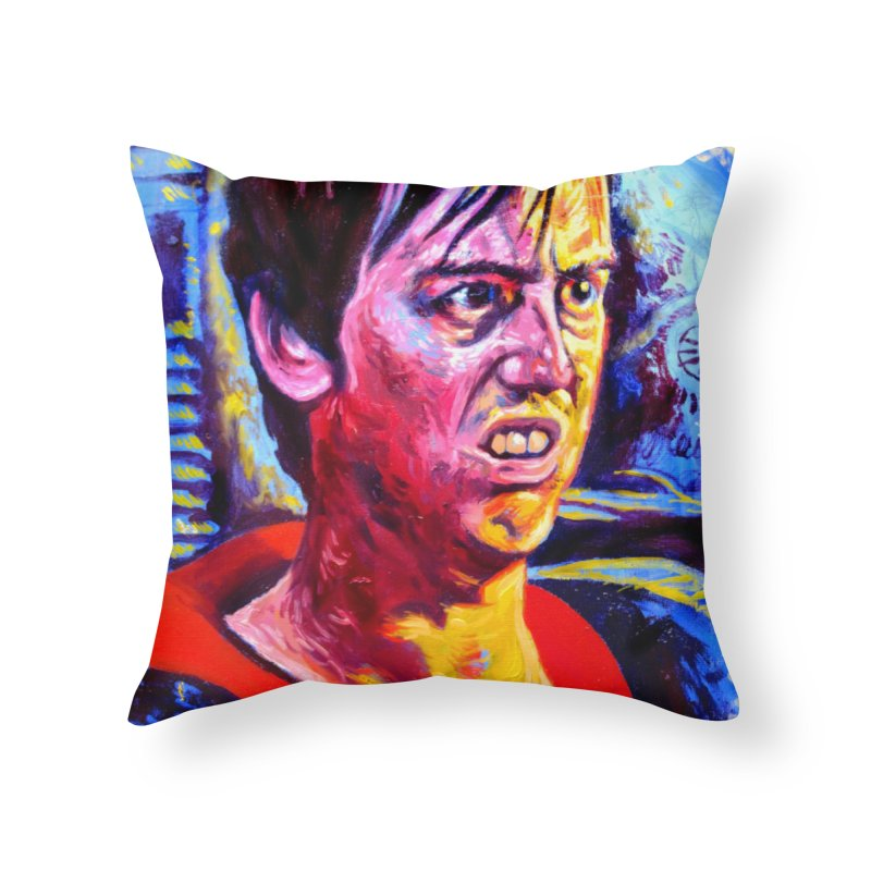 "bump it Home Throw Pillow by Art Prints by Seama available under ""Home"""