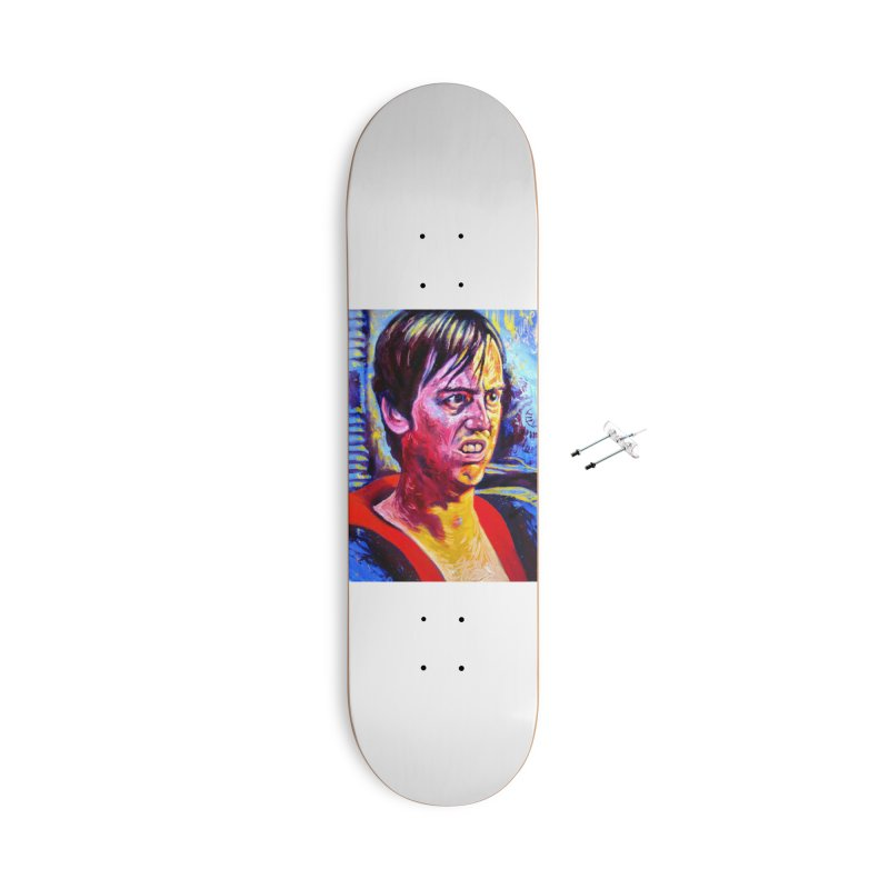 "bump it Accessories With Hanging Hardware Skateboard by Art Prints by Seama available under ""Home"""