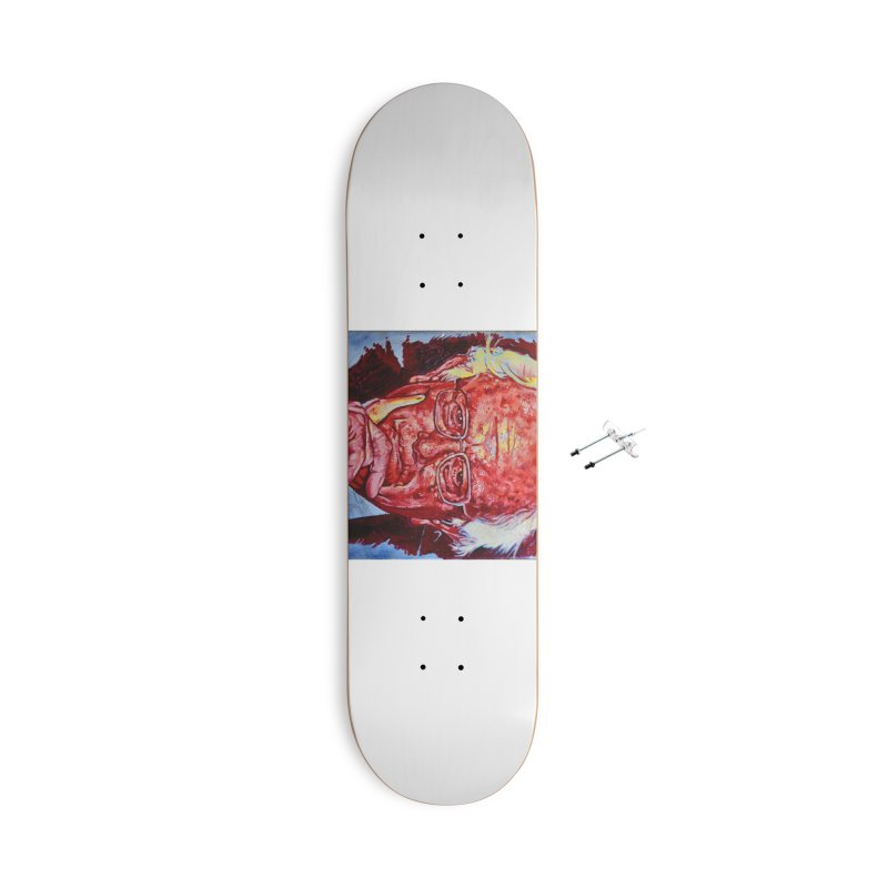 "bern Accessories With Hanging Hardware Skateboard by Art Prints by Seama available under ""Home"""