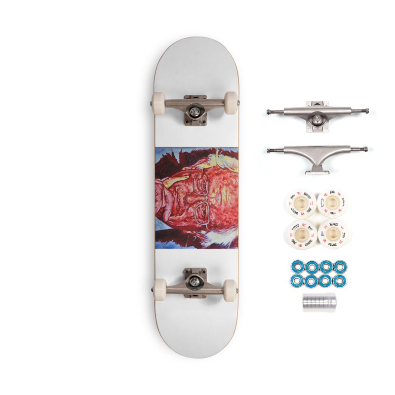 """bern Accessories Complete - Premium Skateboard by Art Prints by Seama available under """"Home"""""""