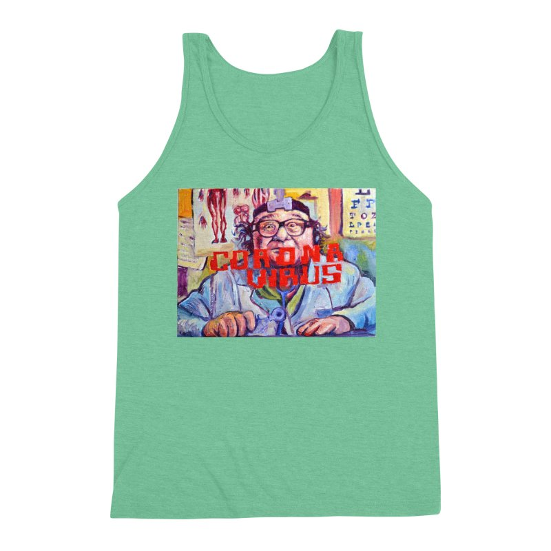 """i got the bug Men's Triblend Tank by Art Prints by Seama available under """"Home"""""""