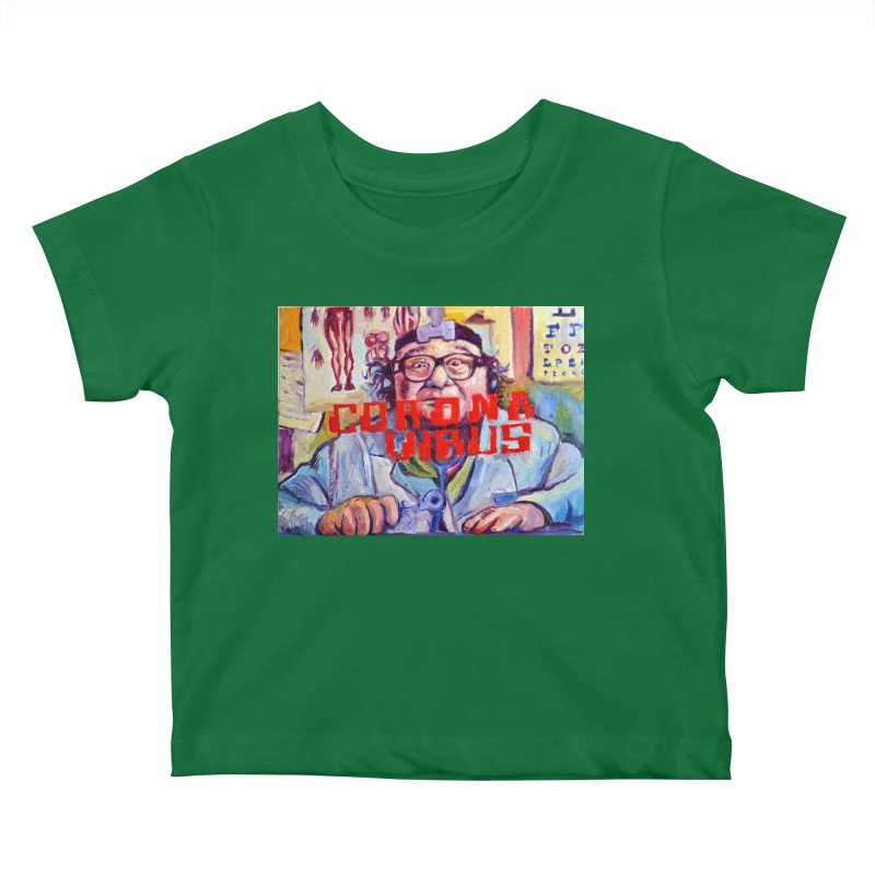 "i got the bug Kids Baby T-Shirt by Art Prints by Seama available under ""Home"""