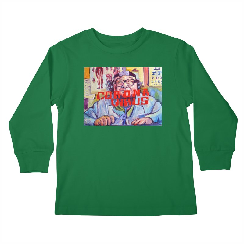 """i got the bug Kids Longsleeve T-Shirt by Art Prints by Seama available under """"Home"""""""