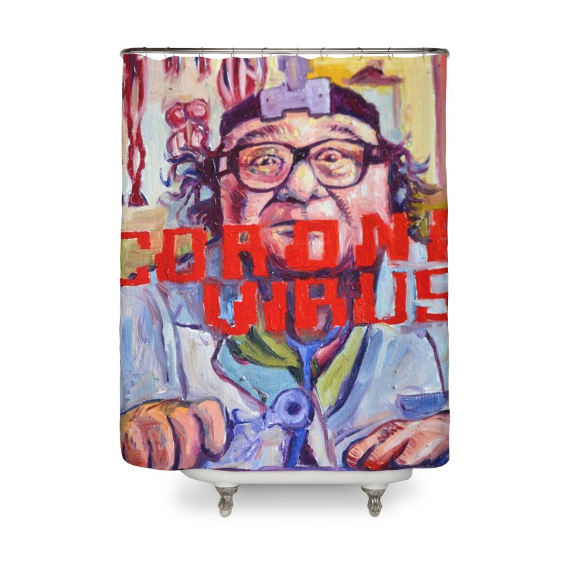 """i got the bug Home Shower Curtain by Art Prints by Seama available under """"Home"""""""