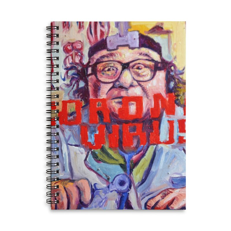 """i got the bug Accessories Lined Spiral Notebook by Art Prints by Seama available under """"Home"""""""