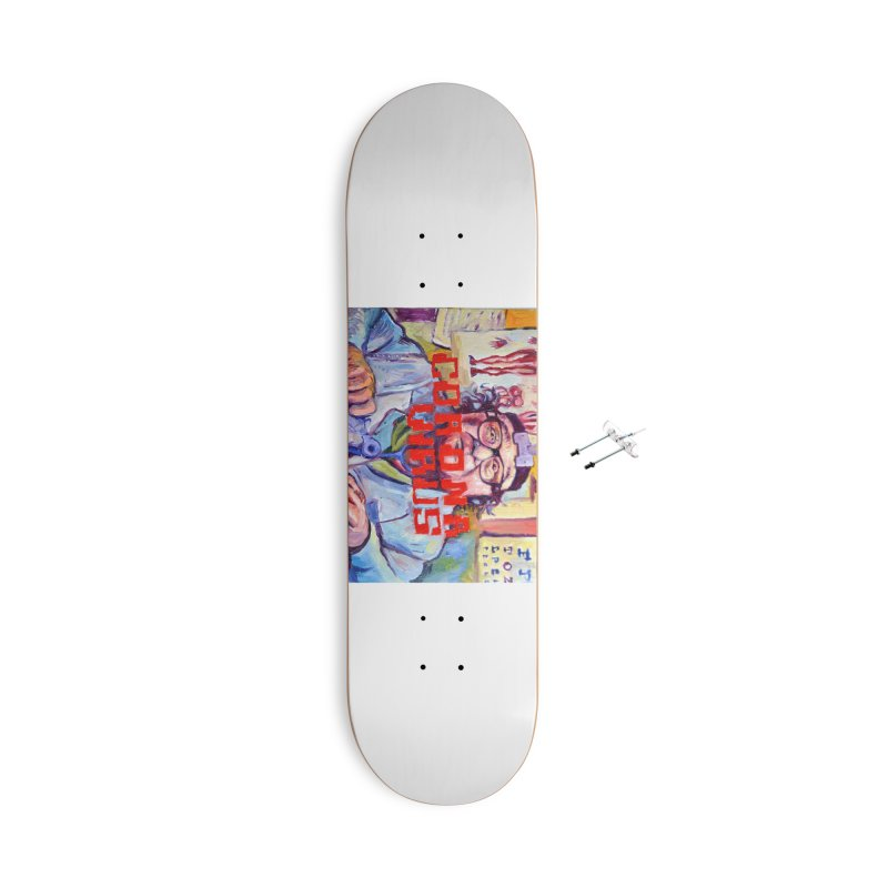 "i got the bug Accessories With Hanging Hardware Skateboard by Art Prints by Seama available under ""Home"""