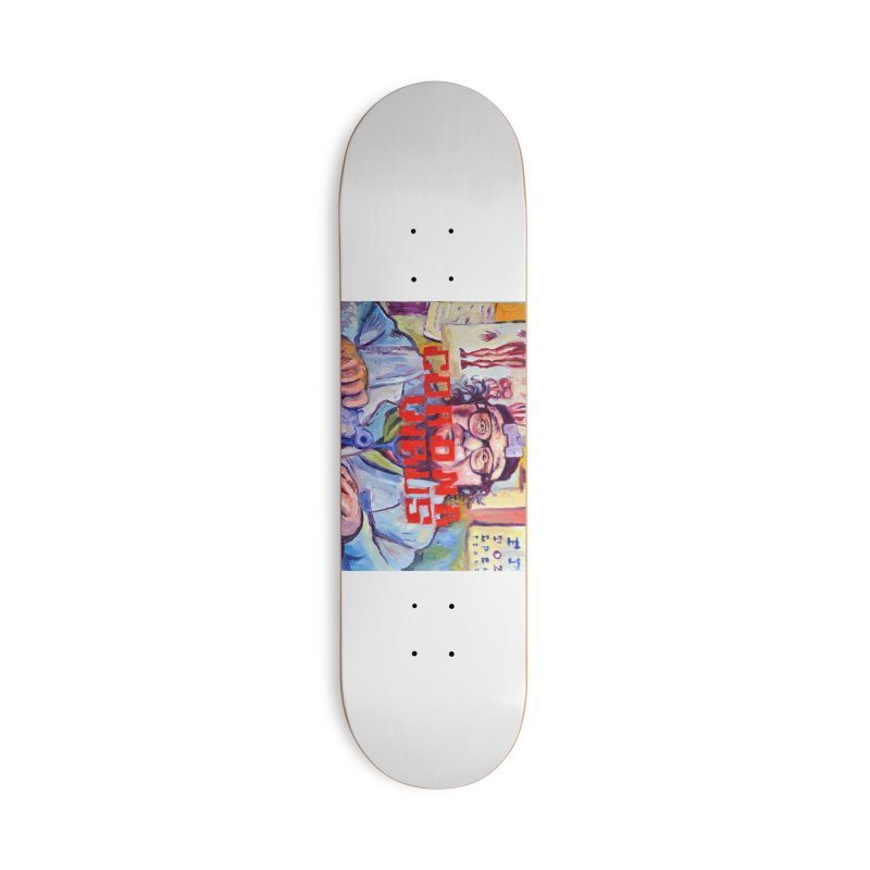 """i got the bug Accessories Deck Only Skateboard by Art Prints by Seama available under """"Home"""""""