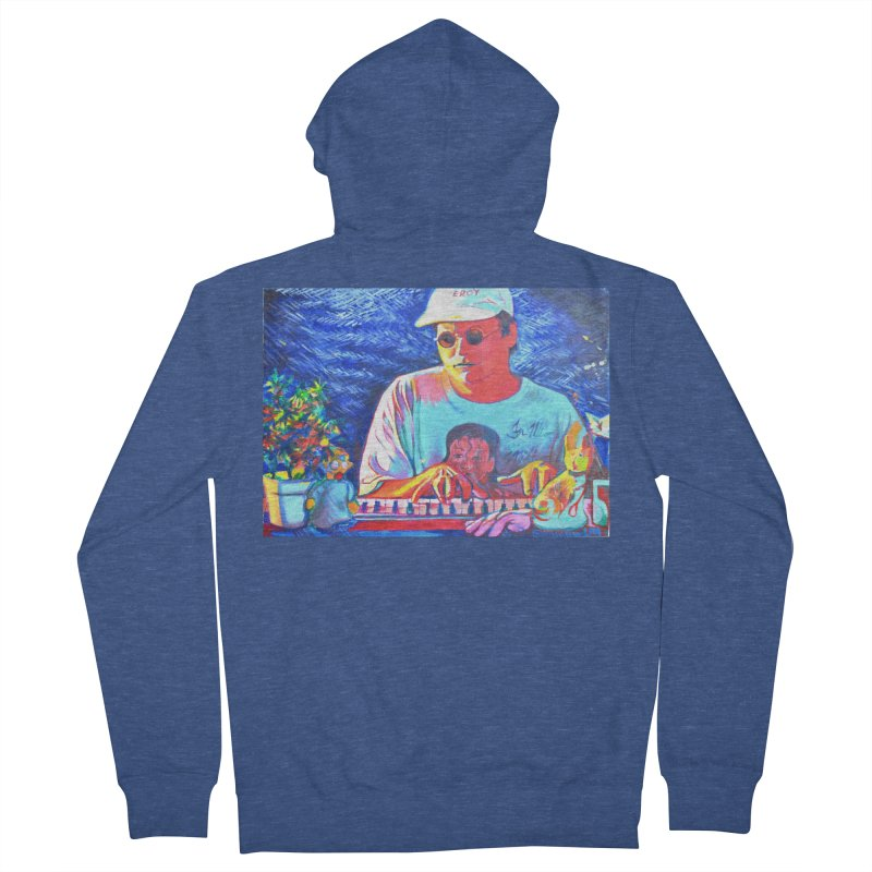 """another one Men's French Terry Zip-Up Hoody by Art Prints by Seama available under """"Home"""""""