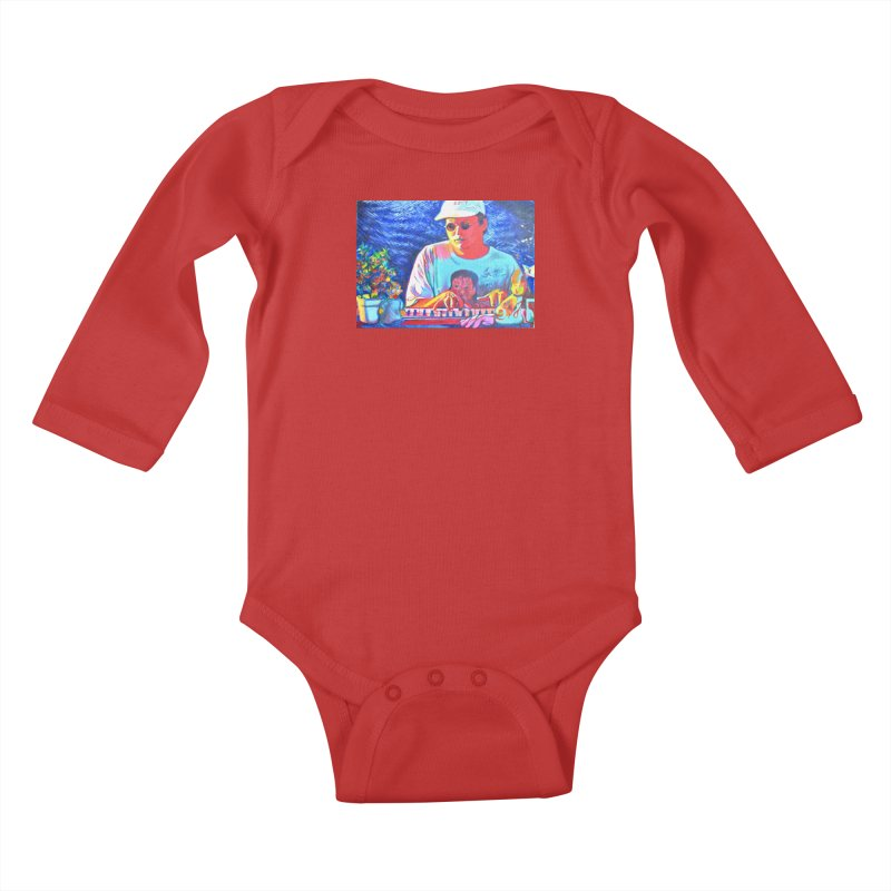 "another one Kids Baby Longsleeve Bodysuit by Art Prints by Seama available under ""Home"""