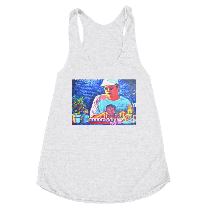 "another one Women's Racerback Triblend Tank by Art Prints by Seama available under ""Home"""