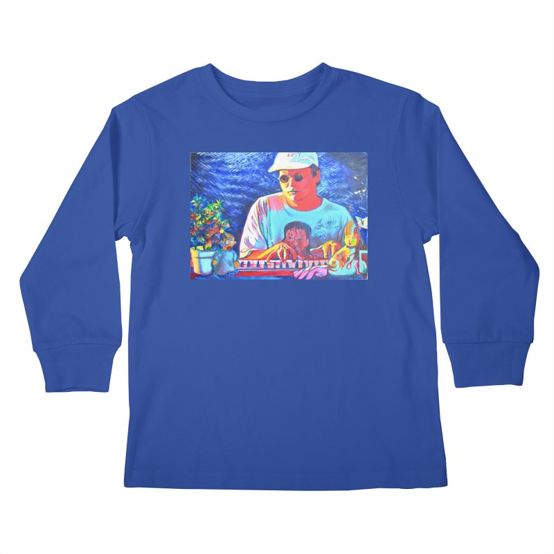 """another one Kids Longsleeve T-Shirt by Art Prints by Seama available under """"Home"""""""