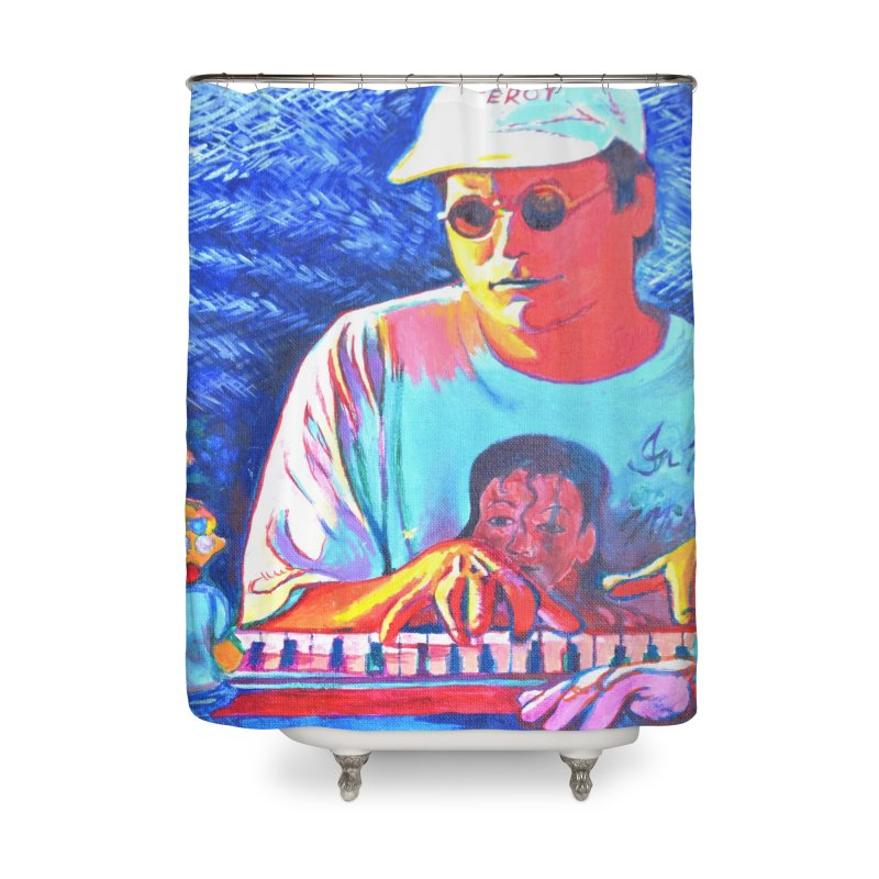"""another one Home Shower Curtain by Art Prints by Seama available under """"Home"""""""