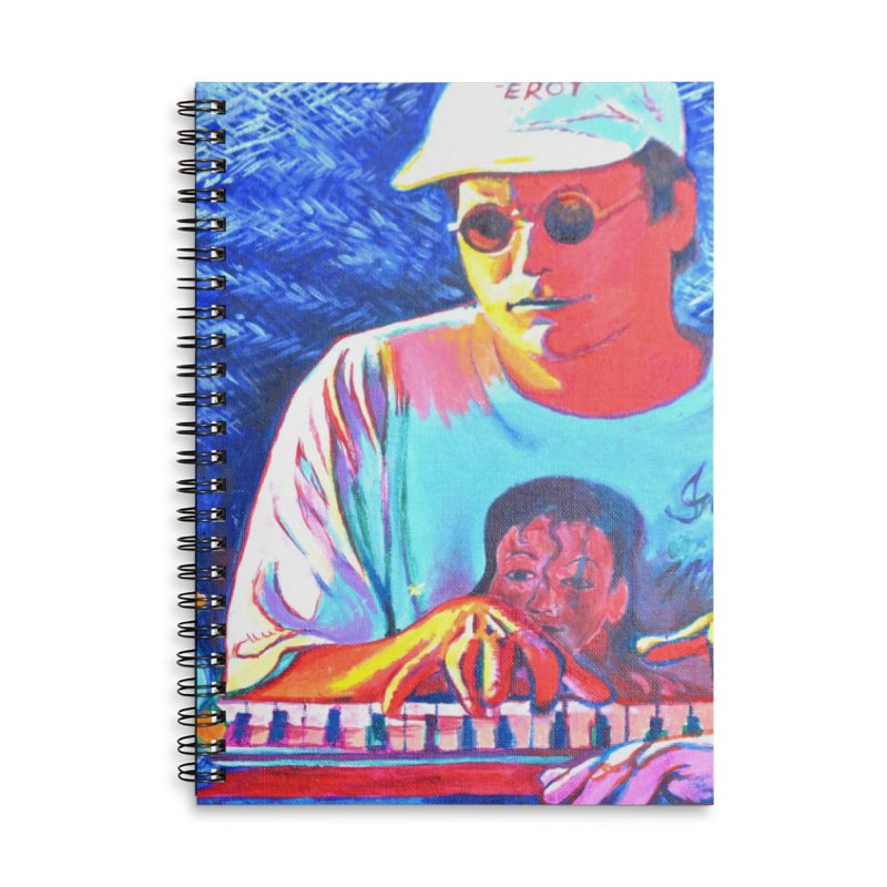"""another one Accessories Lined Spiral Notebook by Art Prints by Seama available under """"Home"""""""