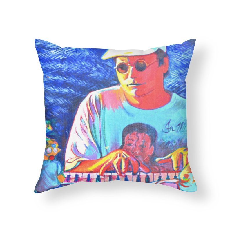 "another one Home Throw Pillow by Art Prints by Seama available under ""Home"""