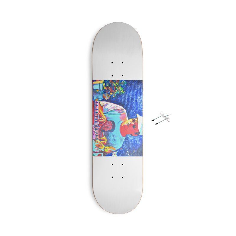 "another one Accessories With Hanging Hardware Skateboard by Art Prints by Seama available under ""Home"""