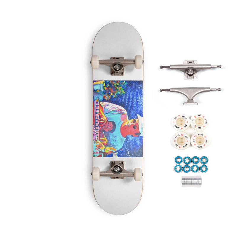 """another one Accessories Complete - Premium Skateboard by Art Prints by Seama available under """"Home"""""""