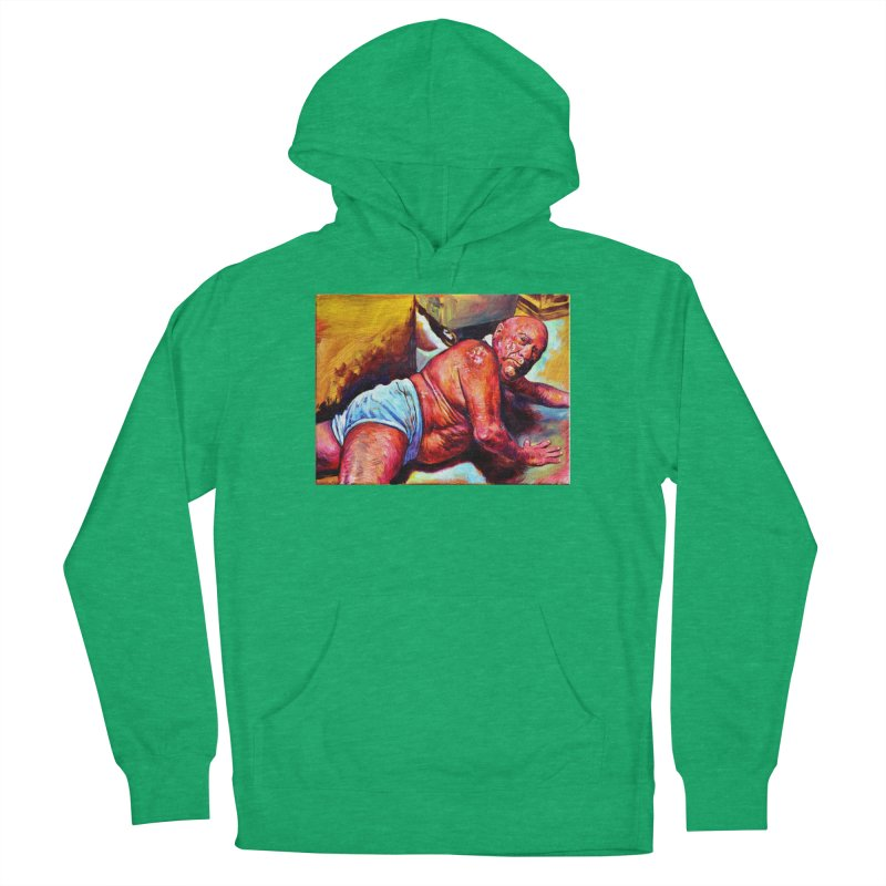 """pure Men's French Terry Pullover Hoody by Art Prints by Seama available under """"Home"""""""