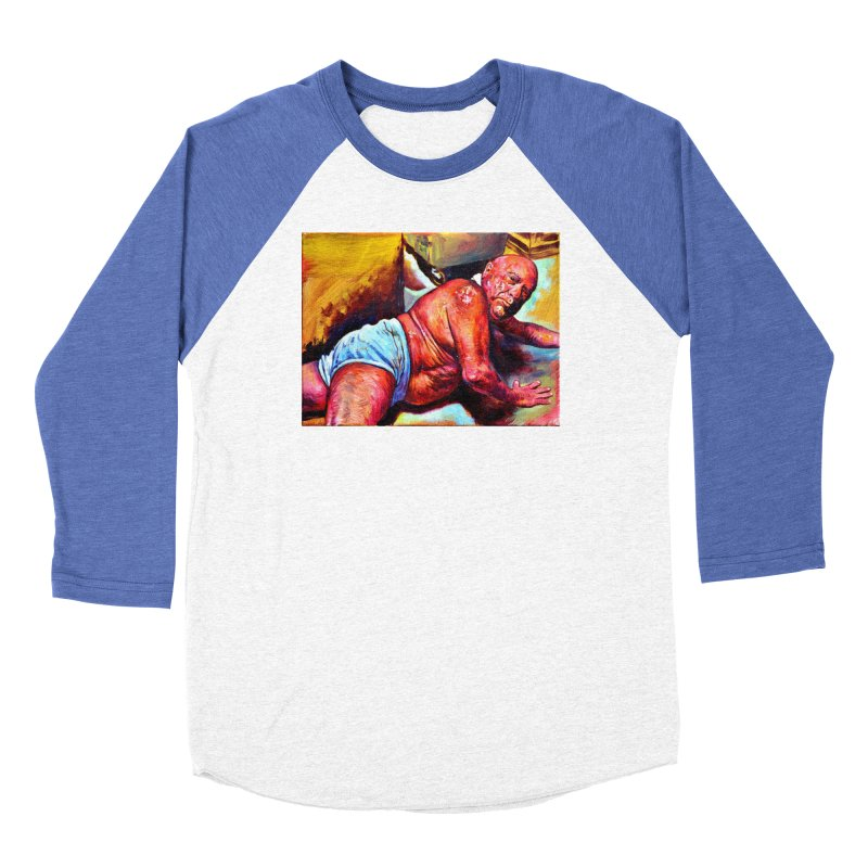 "pure Women's Baseball Triblend Longsleeve T-Shirt by Art Prints by Seama available under ""Home"""