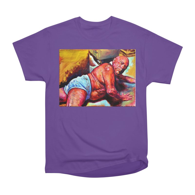 "pure Men's Heavyweight T-Shirt by Art Prints by Seama available under ""Home"""