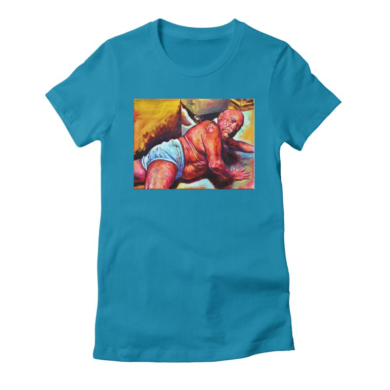 """pure Women's Fitted T-Shirt by Art Prints by Seama available under """"Home"""""""