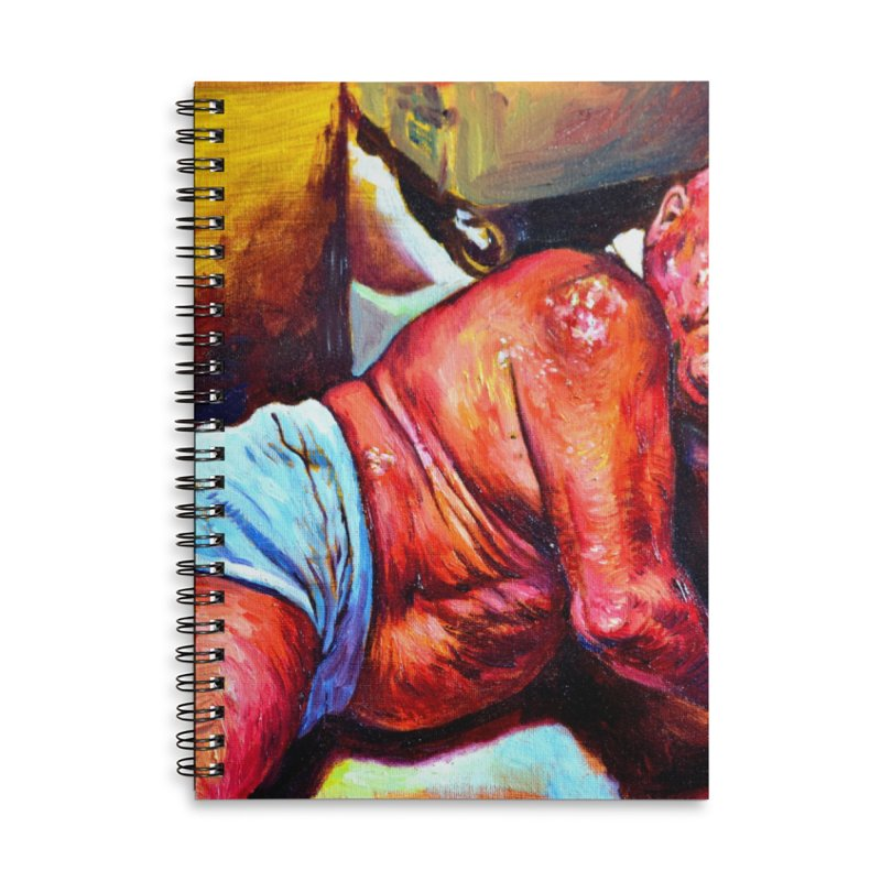 """pure Accessories Lined Spiral Notebook by Art Prints by Seama available under """"Home"""""""