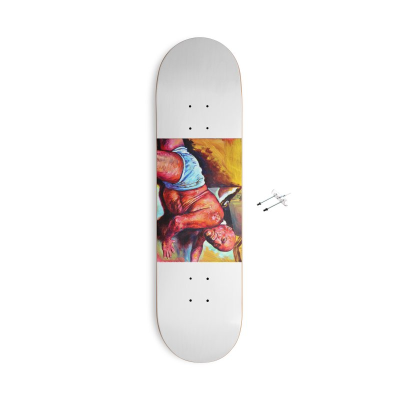 "pure Accessories With Hanging Hardware Skateboard by Art Prints by Seama available under ""Home"""