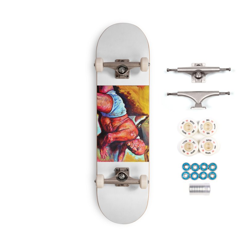 """pure Accessories Complete - Premium Skateboard by Art Prints by Seama available under """"Home"""""""