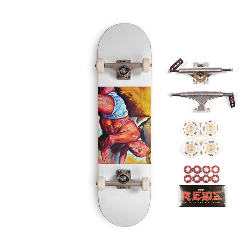 "pure Accessories Skateboard by Art Prints by Seama available under ""Home"""