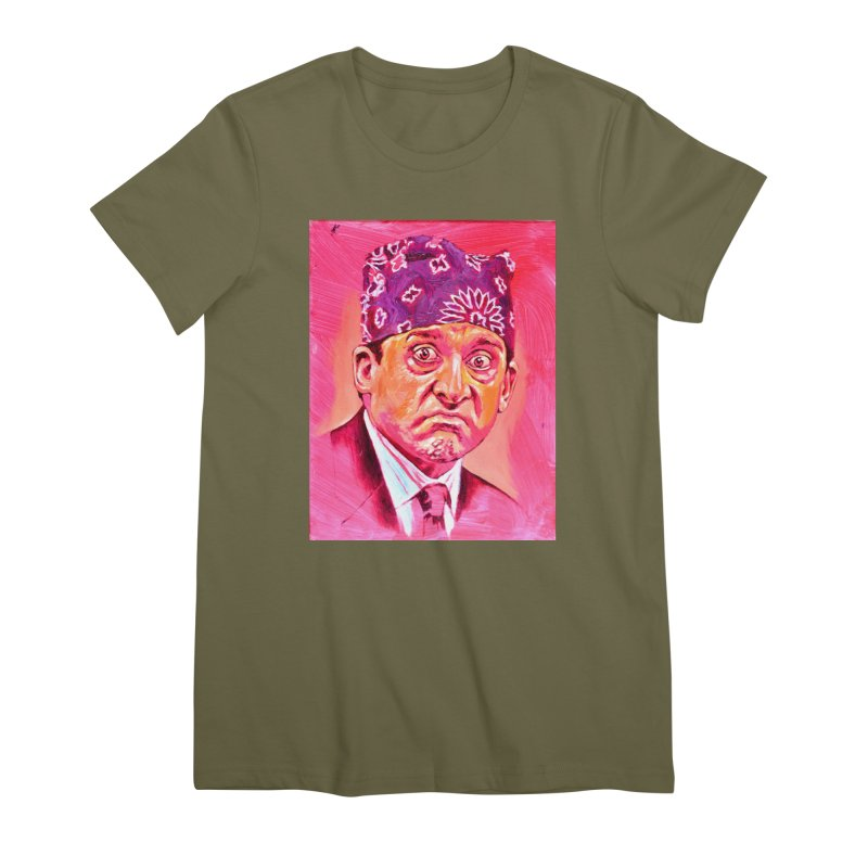"""prison mike Women's Premium T-Shirt by Art Prints by Seama available under """"Home"""""""