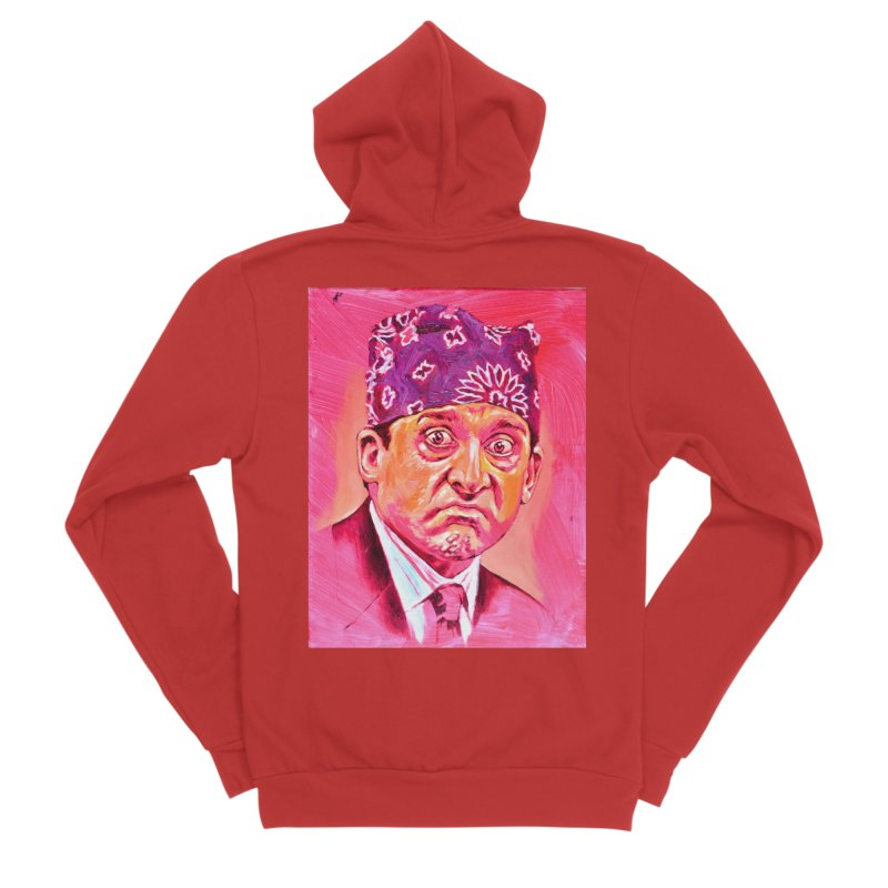 "prison mike Men's Sponge Fleece Zip-Up Hoody by Art Prints by Seama available under ""Home"""