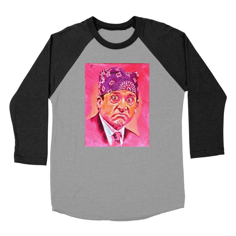 "prison mike Women's Baseball Triblend Longsleeve T-Shirt by Art Prints by Seama available under ""Home"""