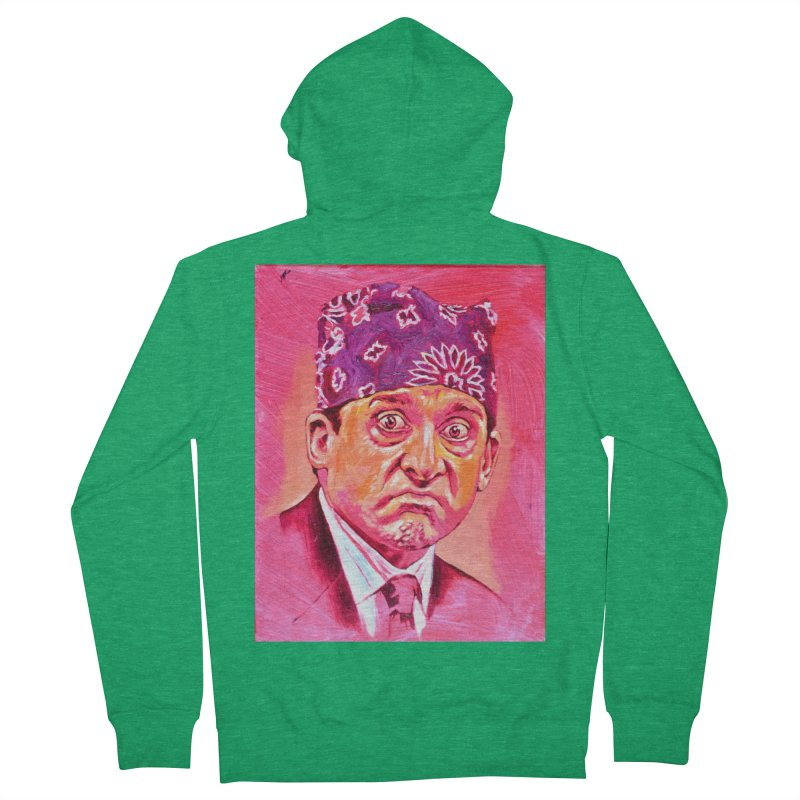 """prison mike Men's Zip-Up Hoody by Art Prints by Seamus Wray available under """"Home"""""""