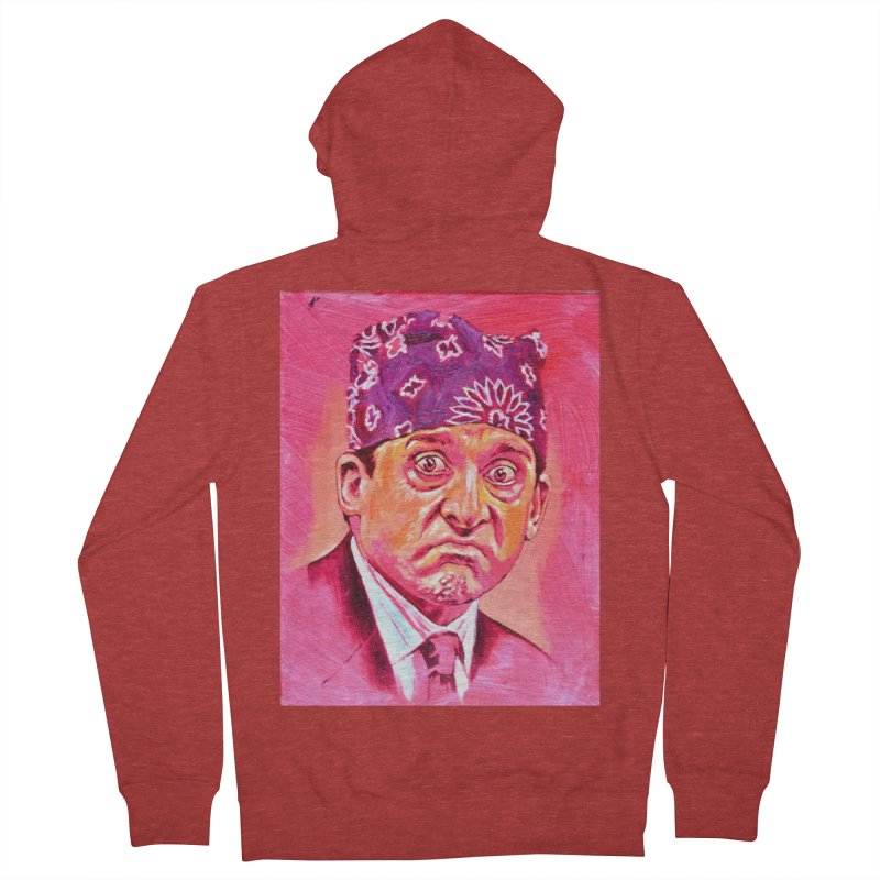 """prison mike Men's French Terry Zip-Up Hoody by Art Prints by Seama available under """"Home"""""""